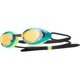 TYR Black Hawk Racing Mirrored Goggle Men green